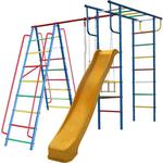Купить Детский комплекс c качелями Вертикаль Вертикаль-А1+П дачный с горкой 3,0 м (2682) купить недорого низкая цена