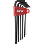 Купить Ключи STG шестигранные модель YC - 613 (7 предметов)технические характеристики фото габариты размеры