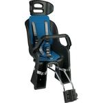 Купить Кресло детское на велосипед SunnyWheel заднее SW - BC 137 черное с синей накладкой купить недорого низкая цена