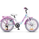 Купить Велосипед Stels Pilot-230 Lady 20 V010 12 Белый купить недорого низкая цена