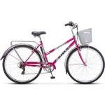 Купить Велосипед Stels Navigator-350 Lady 28 Z010 20 Фиолетовый купить недорого низкая цена