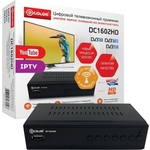 Тюнер DVB-T2 D-Color DC1602HD