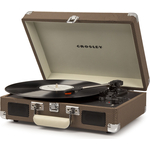 Виниловый проигрыватель CROSLEY CRUISER DELUXE [CR8005D-TW] tweed c Bluetooth