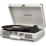 Виниловый проигрыватель CROSLEY CRUISER DELUXE [CR8005D-WS] white sands c Bluetooth