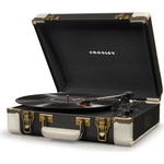 Виниловый проигрыватель CROSLEY EXECUTIVE DELUXE black/white c Bluetooth