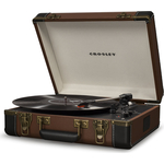 Виниловый проигрыватель CROSLEY EXECUTIVE DELUXE brown/black c Bluetooth
