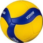 Купить Мяч волейбольный Mikasa V200W официальный мяч FIVB отзывы покупателей специалистов владельцев