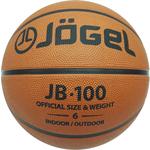 Купить Мяч баскетбольный JOGEL JB-100 р.6 отзывы покупателей специалистов владельцев