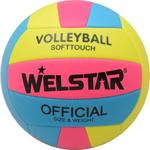 Купить Волейбольный мяч Welstar VMPVC4351B р.5 отзывы покупателей специалистов владельцев