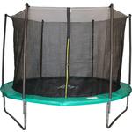 Купить Батут DFC JUMP 8ft складной, сетка, чехол, green (244см), НОВИНКА отзывы покупателей специалистов владельцев