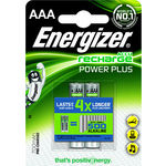 Аккумулятор ENERGIZER Power Plus NH12 AAA 700 BP2 Pre-Ch (2 шт) 1,2V