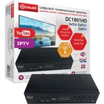 Тюнер DVB-T2 D-Color DC1801HD