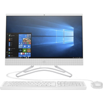Моноблок HP 200 G3 AiO white (Pen J5005/4Gb/128GbSSD/noDVD/UHD Graphics 605/WiFi/BT/Cam/DOS/k+m) (4YW19ES)