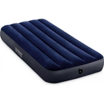 Надувной матрас Intex 64756 Classic Downy Airbed Fiber-Tech, 76х191х25 см