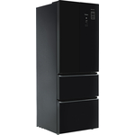 Холодильник Tesler RFD-361I BLACK GLASS