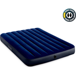 Надувной матрас Intex 64758 Classic Downy Airbed Fiber-Tech 137х191х25 см