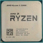 Процессор AMD AMD Ryzen 3 2200G OEM (3.5-3.7GHz, 4MB, 65W, AM4, RX Vega Graphics)