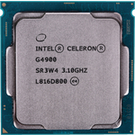 Процессор Intel Intel Celeron G4900 Coffee Lake OEM (3.1ГГц, 2МБ, Socket1151v2)