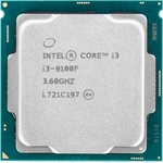 Процессор Intel Intel Core i3-9100F Coffee Lake OEM (3.60Ггц, 6МБ, Socket 1151v2)