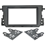Рамка Incar SMART Fortwo (BR415) Facelift 11+ 2din (пласт. крепеж)