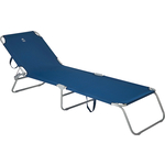 Раскладушка Jungle Camp Comfort Blue, кемпинговая, 189x58x28 см