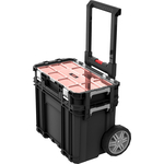 Ящик для инструментов Keter Connect Cart + Organizer BLACK (239996)
