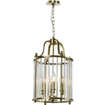Люстра Lumien Hall Подвесная Lariana LH3038/4P-A-CO-CL