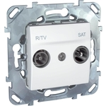 Розетка Schneider Electric R-TV/SAT Unica MGU5.454.18ZD