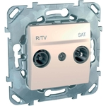 Розетка Schneider Electric R-TV/SAT Unica MGU5.454.25ZD