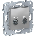 Розетка Schneider Electric R-TV/SAT одиночная Unica New NU545430