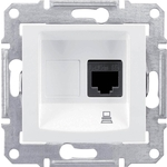 Розетка Schneider Electric компьютерная RJ45 Sedna UTP SDN4700121