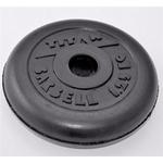 Купить Диск обрезиненный Titan 26 мм 1.25 кг черный