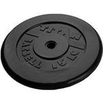 Купить Диск обрезиненный Titan 26 мм 15 кг черный купить недорого низкая цена
