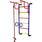 Купить Детский спортивный комплекс Пионер 7М (синий/жёлтый) купить недорого низкая цена