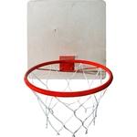 Купить Кольцо баскетбольное КМС со щитом d-295 мм купить недорого низкая цена