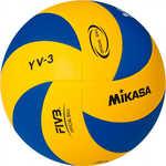 Купить Мяч волейбольный Mikasa YV-3, размер 5, цвет сине-желтый купить недорого низкая цена