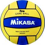 Купить Мяч для водного поло Mikasa W6000C, размер мужской, цвет желто-синий купить недорого низкая цена