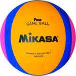 Купить Мяч для водного поло Mikasa W6009W, размер женский, цвет желто-сине-розовый купить недорого низкая цена