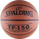 Купить Мяч баскетбольный Spalding TF-150 (73-953z/63-684z/83-572z), размер 7 отзывы покупателей специалистов владельцев
