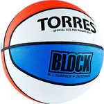 Купить Мяч баскетбольный Torres Block (арт. B00077) купить недорого низкая цена