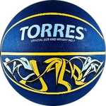 Купить Мяч баскетбольный Torres сувенирный Jam (арт. B00041) купить недорого низкая цена