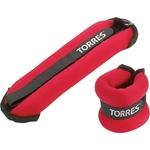 Купить Утяжелители Torres 2 кг (арт. PL110182)технические характеристики фото габариты размеры