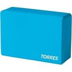 Купить блок, йоги, torres, yl8005, размер, 6x15, 2x22, цвет, голубой