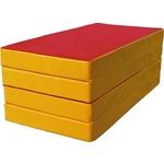 Купить Мат КМС номер 5 (100х200х10см) красный/жёлтый купить недорого низкая цена