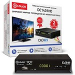 Тюнер DVB-T2 D-Color DC1401HD