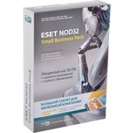 Программный продукт ESET Антивирус NOD32 SMALL Business Pack newsale for 10 user NOD32 - SBP - NS(BOX) - 1 - 10