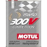 Моторное масло MOTUL 300 V COMPETITION 15W-50 2 л