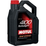 Моторное масло MOTUL 4100 Turbolight 10w-40 4 л