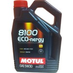 Моторное масло MOTUL 8100 Eco-nergy 5w-30 4 л