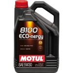 Моторное масло MOTUL 8100 Eco-nergy 5w-30 5 л